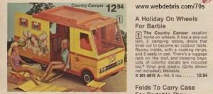 Barbie Country Camper 1976
