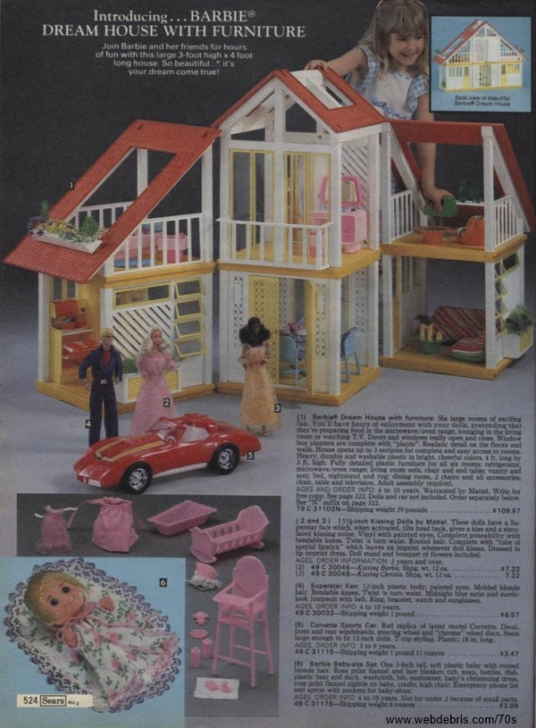 Barbie Dream House 70s Images
