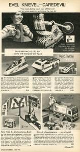 Evel Knievel Daredevil Toys