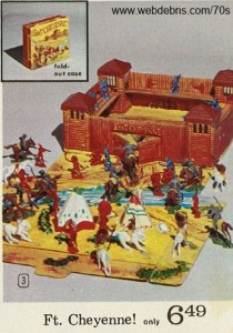 Fort Cheyenne Play Set 1970