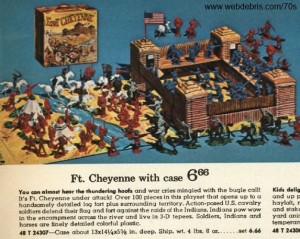 Fort Cheyenne Play Set with Case