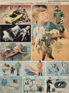 G.I. Joe and Accessories from 1970
