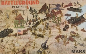 Marx Battleground Play Set