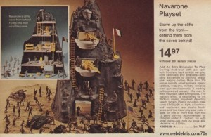 Marx Navarone Play Set