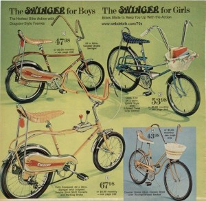 Swinger Bicycles 1970