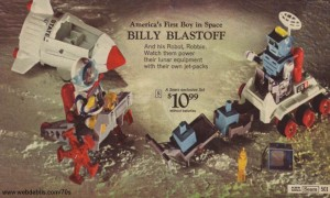 Billy Blastoff and His Robot, Robbie from 1970s