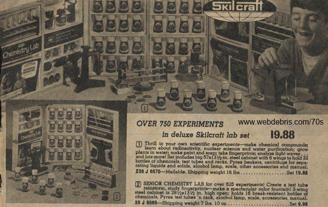 Vintage Chemistry Sets
