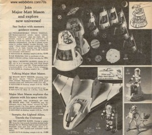 Major Matt Mason Assortment from 1970
