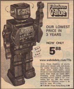 Moon Explorer Robot 1975