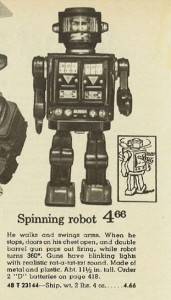 Spinning Robot from 1970