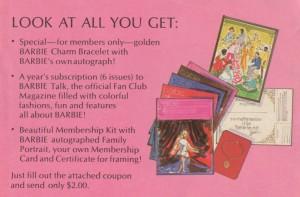 Barbie Fan Club Gifts