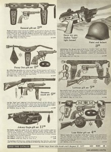 Cap Guns Ward 1970
