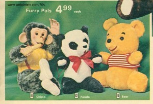 Furry Pals from 1972