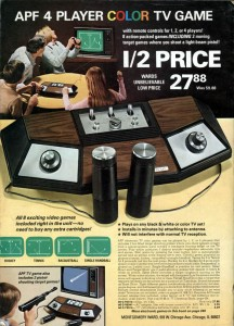 APF Wards Game Console from 1978