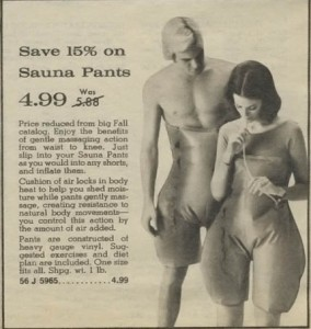 Sauna Pants from the 70s