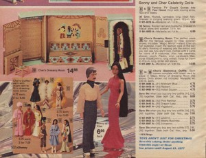 Sonny and Cher Dolls from 1976