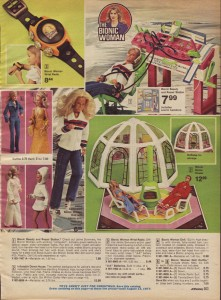 The Bionic Women Action Figure from 1976