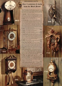 Various Clocks from the 70s