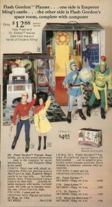 Flash Gordon Play Set from 1977