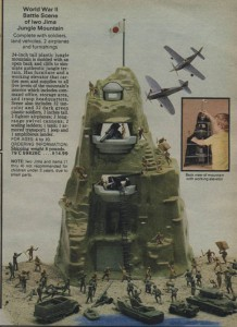 Iwo Jima Play Set from 1979