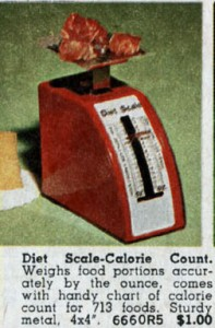 Diet Scale Calorie Counter from the 70s