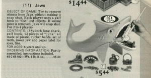 1977 Jaws Board Game from Ideal