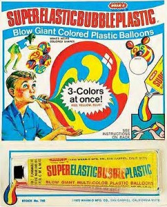 Super Elastic Bubble Plastic from Wham-O!