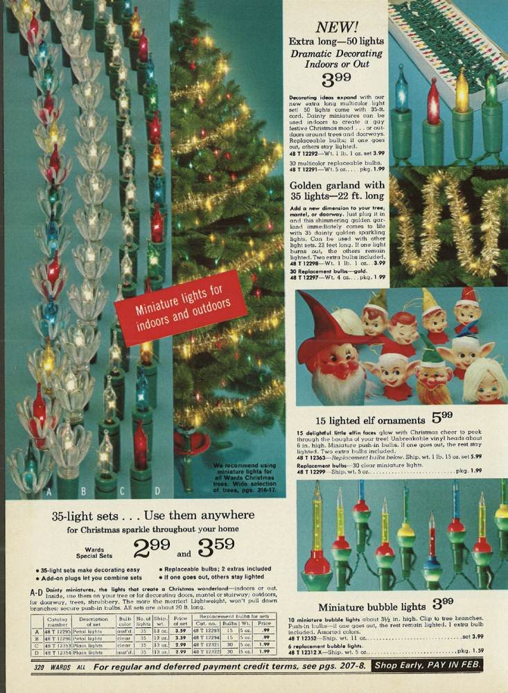 christmas lights from 1970 christmas lights from 1970