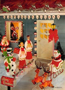 Christmas Lawn Decorations from 1972