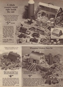 Farm Play Sets from 1969