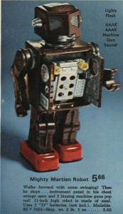 Mighty Martian Robot from 1972