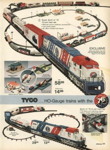 Tyco HO Scale Spirit of 76 from 1974