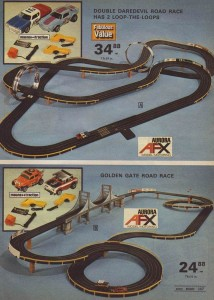Aurora AFX Race Tracks from 1975 b