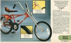 Chopper Style Bike from 1977