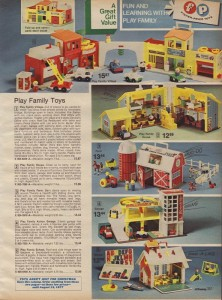 Fisher Price Little People from 1976