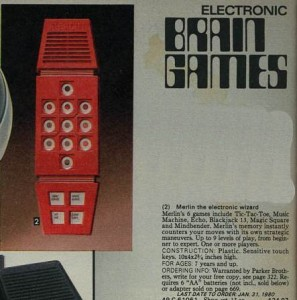 Merlin the Electronic Wizard from 1979
