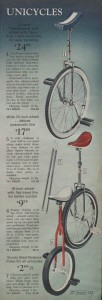 Unicycles from 1971