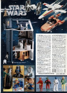 Star Wars Toy Ad from 1978 Wards Catalog