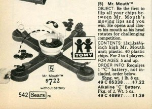 Mr. Mouth Game 1977