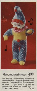Musical Clown from 1973