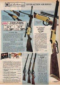 The Centennial Lever Action BB Gun from 1975