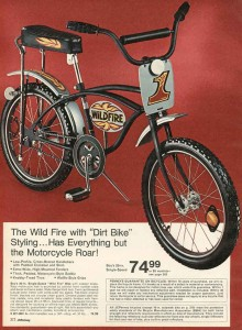 """Wild Fire"" Bicycle from 1973"