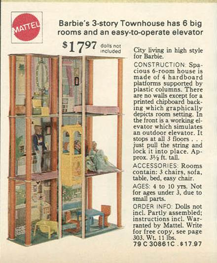 Barbie Townhouse 1977 Images Frompo