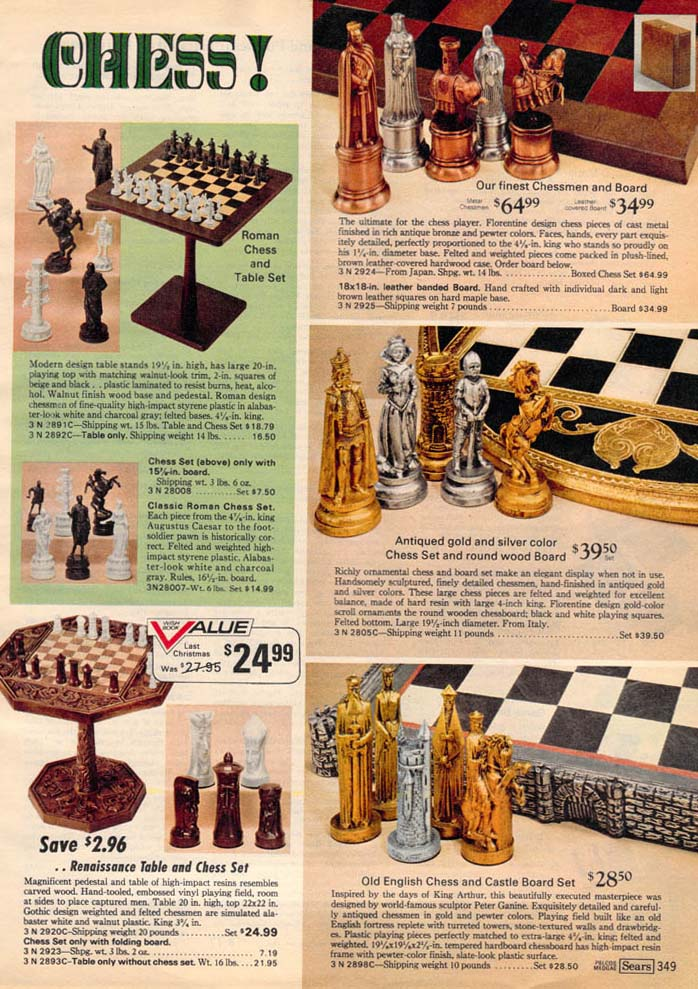 Various Chess Sets From The 70s Remembering The 70s