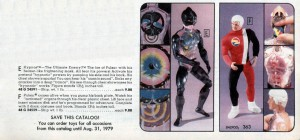 Pulsar and Hypnos Action Figures from 1978