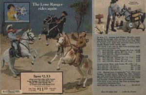 The Lone Ranger Action Figures 1979