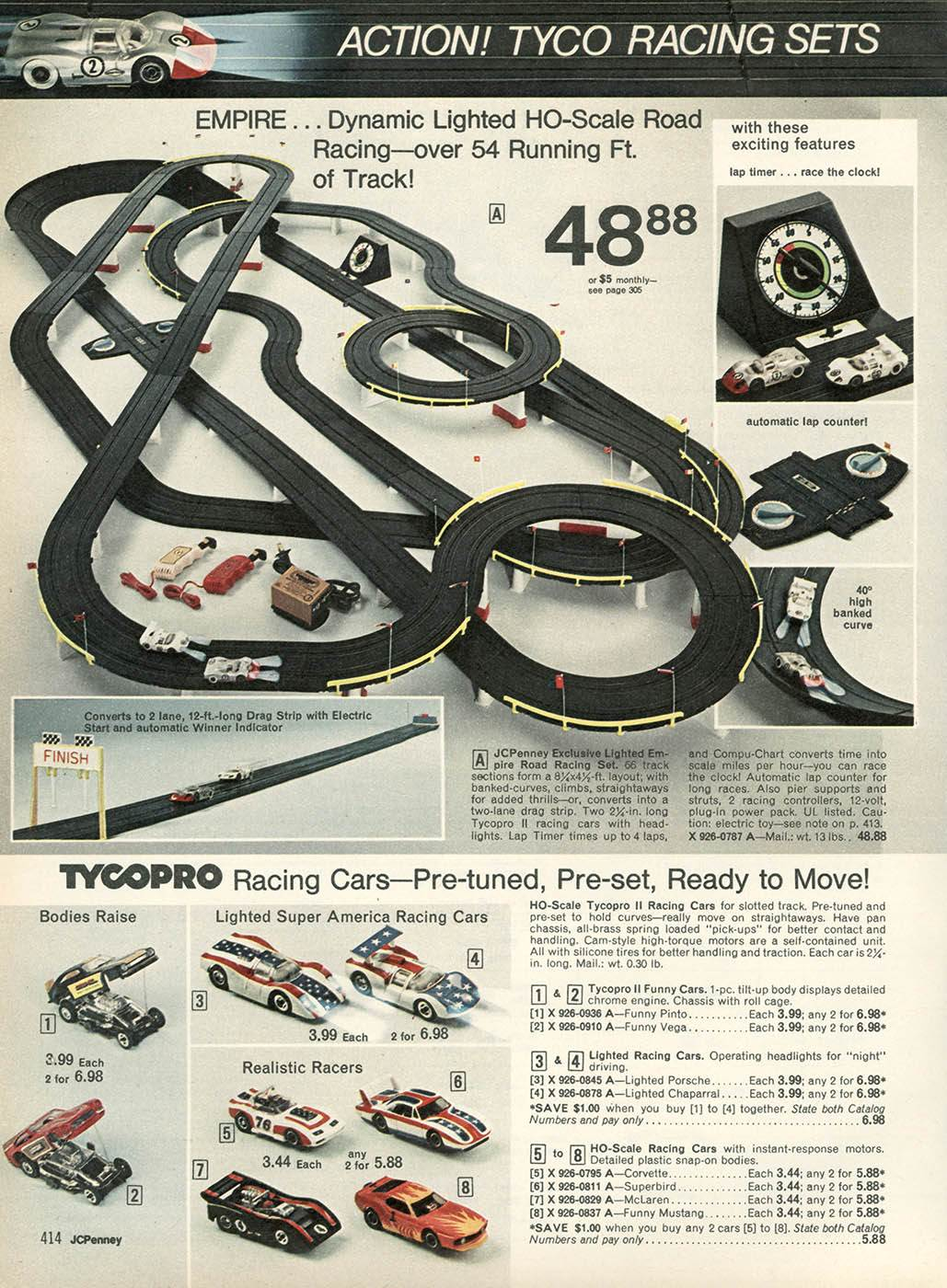 Ho race track layouts