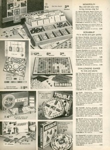 Assortment of Board Games from 1975