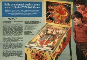 "Bally ""Fireball"" Pinball Machine - 1977"