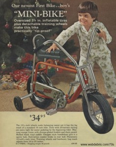 Boys 1st Mini-Bike from 1971